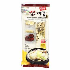 Korean Herbs with Ginseng for Chicken Stew by Surasang 3.17 oz