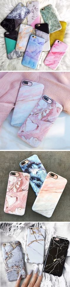 US$3.69 Painted Marble Soft TPU Phone Cases For iphone 7 Plus 6 6s Creative Mobile Phone Protective Cover: