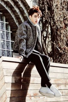 D.O. || The Celebrity Magazine January 2015