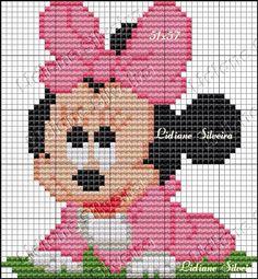 24 Minnie Mickey Mouse Oreilles Bandeaux Noir Peluche Rose Foncé Polka Dot Bow Party