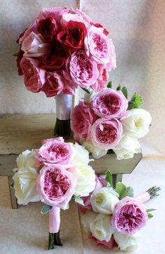 garden rose bouquets