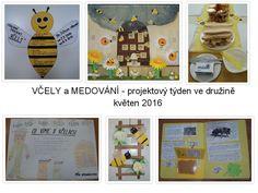 Včely a medování - květen 2016 Busy Bee, Classroom, Wicker, Projects, Class Room