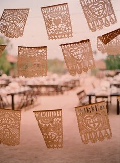 From our Fiesta Rehearsal Dinner | design by Lisa Vorce with Mindy Rice, photos by Beaux Arts Photographie .