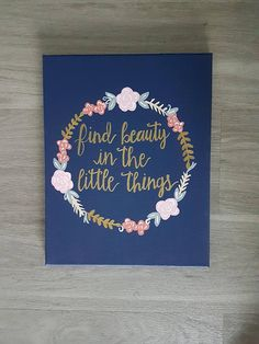 Big Little Sorority Canvas Big Little Craft Custom Quote
