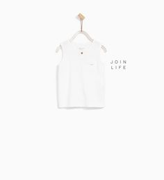 BASIC SLEEVELESS T-SHIRT - Available in more colours