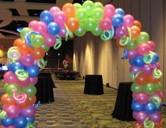 Party People Event Decorating Company: Lake Gibson Neon Prom 2012 Orlando Marriott