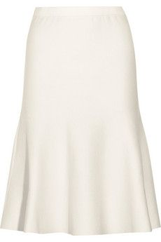 chic! Iris & Ink - http://www.theoutnet.com/en-IT/product/Iris-and-Ink/Tilda-Milano-flared-knitted-stretch-wool-skirt/479806