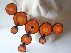 2015 pendants - my own original designs - Facebook.com/Zdenka Quilling