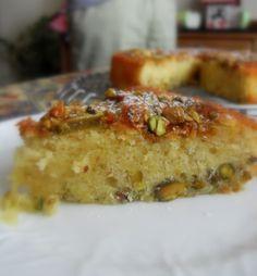 The English Kitchen lemon pistachio cake.