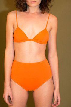 Maryam Nassir Zadeh - Orange Daphne Bikini | BONA DRAG