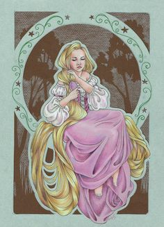 When Will my Life Begin (Rapunzel Fan Art) by ~Lamorien