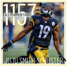 c01818548 PITTSBURGHSTEELERS~  19 JUJU SMITH-SCHUSTER Pittsburgh Steelers Players