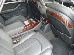 Audi TFSI - wnętrze, ale za to jakie! Audi A8, Subaru, Ale, Car Seats, Vehicles, Beer, Ale Beer, Car Seat, Car