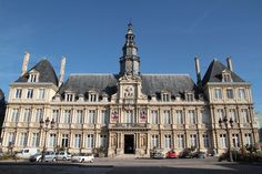L'hôtel de ville.- Reims (Marne)
