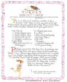 Turkey Meatloaf (Susan Branch)