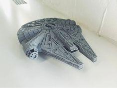 3D printed Starwars Millennium Falcon 20-35 cm length 3d Printer Models, Best 3d Printer, Impression 3d, Milenium Falcon, 3d Printing Diy, 3doodler, Star Wars Models, 3d Home, 3d Prints
