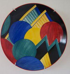 Moon  Mountains - Art Deco. Susie Cooper.  H.
