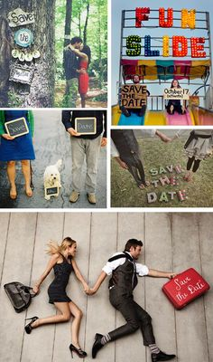 Super photo ideas for Save the Date!
