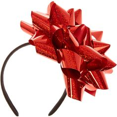 Big Red Confetti Bow Headband (66 NOK) ❤ liked on Polyvore featuring accessories, hair accessories, hair band accessories, bow headbands, hair band headband, headband hair accessories and bow hairband Holiday Crafts, Christmas Diy, Merry Christmas, Christmas Outfits, Bow Hairband, Bow Headbands, Headband Hair, Christmas Headpiece, Christmas Accessories