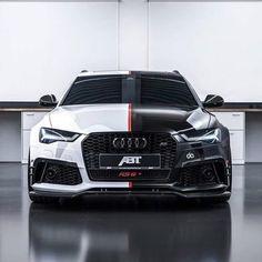 Audi RS6 Avant built by @abt_sportsline #CarsWithoutLimits // Hi...