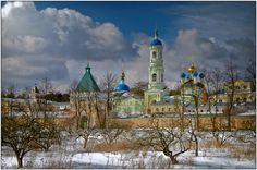 landscapelifescape:    Optina Monastery, Russia  my-shots