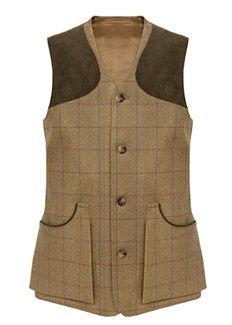 William Evans St James Tweed Shoot Vest