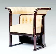 Josef Hoffmann / J. & J. Kohn / so-called Buenos Aires suite | From a unique collection of antique and modern settees at http://www.1stdibs.com/furniture/seating/settees/