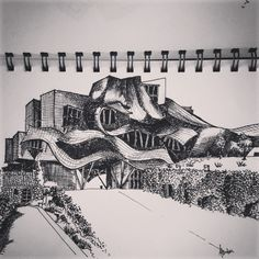Hotel Marques De Riscal, Elciego, Spain. Frank Gehry. #Architecture.