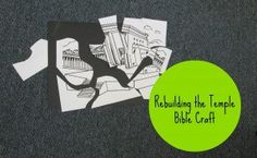 Rebuilding the Temple Bible Craft