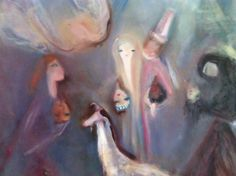 muzeul de arta ploiesti pictura margareta sterian close up Up, Paintings, Paint, Painting Art, Painting, Painted Canvas, Drawings, Grimm, Illustrations