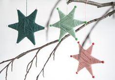 DIY – Mit Garn umwickelte Sterne