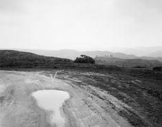 Robert Adams: From the Missouri West - Development road in San Timoteo Canyon, San Bernardino County, California, 1978, gelatin-silver print