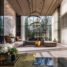 Love this #livingroom #design  . . . #designmeetsperfection #design #designinspiration #instagood #instagram #instadesign #instadecor #interiordesign #interior #luxuryhomes #designers #designporn #home #homedecor #dreamhome #classy #elegant #chandelier #chandeliercrystal #designinspiration #fashion #fashionblogger #homestyling #style #modern - Architecture and Home Decor - Bedroom - Bathroom - Kitchen And Living Room Interior Design Decorating Ideas