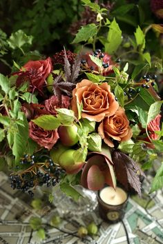 Beautiful Bouquet Of Flowers, Fall Flowers, My Flower, Flower Art, Flora Design, Arte Floral, Natural Texture, Floral Arrangements, Flower Arrangement