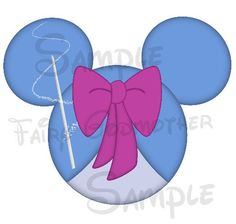 Cinderella's Fairy Godmother inspired Character DIGITAL printable Mickey head file DIY on Etsy, $3.00
