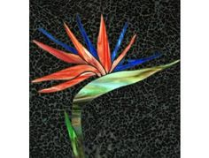 "Stained glass bird of paradise | Tropical Delight"" by Linda Hooper - Online Fundraising Auction ..."