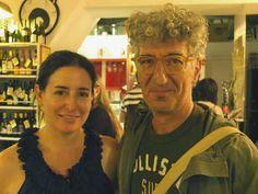 Con Marco Petrella alla libreria Giufà di Roma. (Foto di Rino Bianchi)