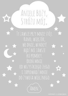 Aniele Boży plakat szary