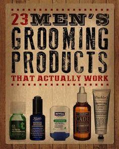 23 Men's Grooming Products That Actually Work. [ BodyBeautifulLaserMedi-Spa.com ] #skin #spa #beauty