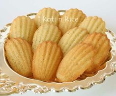 """Gluten-Free Orange Blossom Madeleines. Must try these for my sister. I make """"regular"""" madeleines regularly and everyone loves them."""