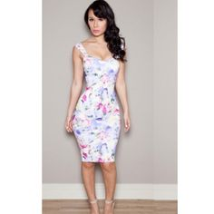 USD11.99Fashion V Neck Spaghetti Strap Sheath Knee Length Print Polyester Dress