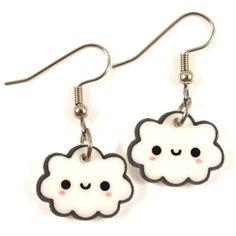 Kawaii Little Cloud Earrings
