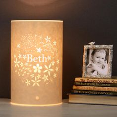 personalised bouquet lamp - mini by hannah nunn