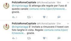 Attualià: #Virginia #Raggi #segua le regole. I vigili sgridano (per sbaglio) la sindaca di Roma su Twitter (link: http://ift.tt/2iEGmuR<<Virginia-Raggi-segua-le-regole>>-I-vigili-sgridano-per-sbaglio-la-sindaca-di-Roma-su-Twitter.html )