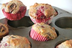 My Happy Place...: Dark Chocolate Raspberry Muffins