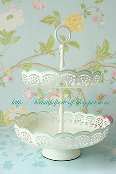 Laura Ashley dessert stand