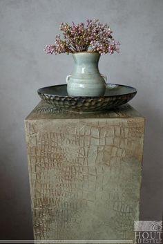 Landelijk, zuil, betoncire Vase, Lifestyle, Home Decor, Decoration Home, Room Decor, Vases, Home Interior Design, Home Decoration, Interior Design