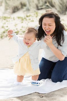 Golden Gate Bridge + Crissy Field Family Session with One Year Old | Cristin More Photography