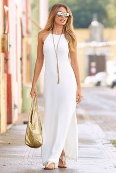 Spring Dresses Casual, Summer Fashion Outfits, Summer Outfits Women, Trendy Dresses, Elegant Dresses, Nice Dresses, Fashion Dresses, Dress Casual, Outfit Summer