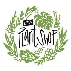 Image result for plant shop logo www.littleplantsh Flowering Shade Plants, Landscaping Logo, Plant Logos, Wooden Garden Planters, Plant Nursery, Little Plants, Exotic Plants, Shop Logo, Plant Design